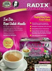 Minuman Sehat Kopi Radix Fatimah