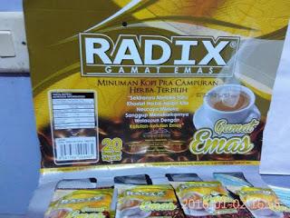 Jual kopi Radix Malaysia