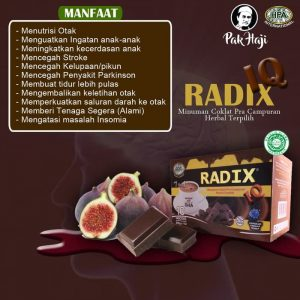 Produk Herbal Radix IQ HPA