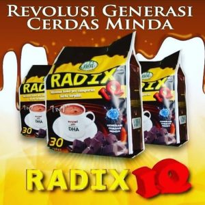Produk Herbal Radix IQ HPA internasional