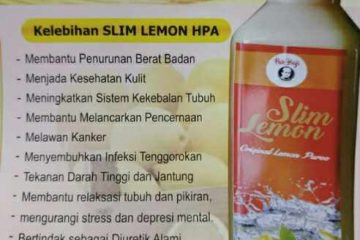 Produk Herbal Slim Lemon HPA